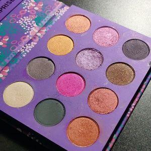 Combination of different colourpop palettes